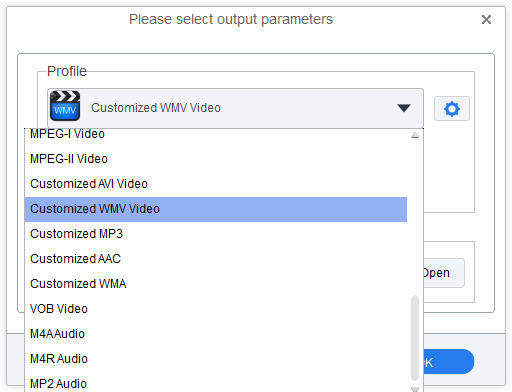 how to change a video format to wmv
